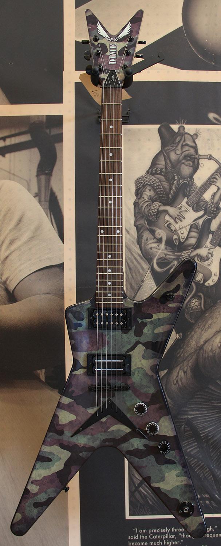 dimebag darrell guitar camo - photo #3