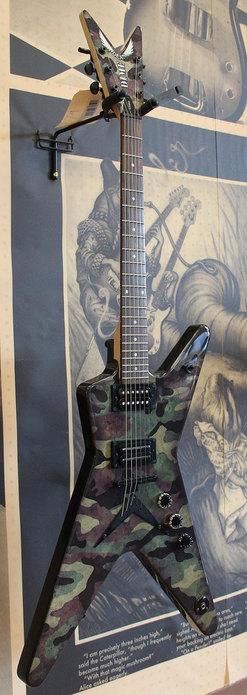 dimebag darrell guitar camo - photo #11