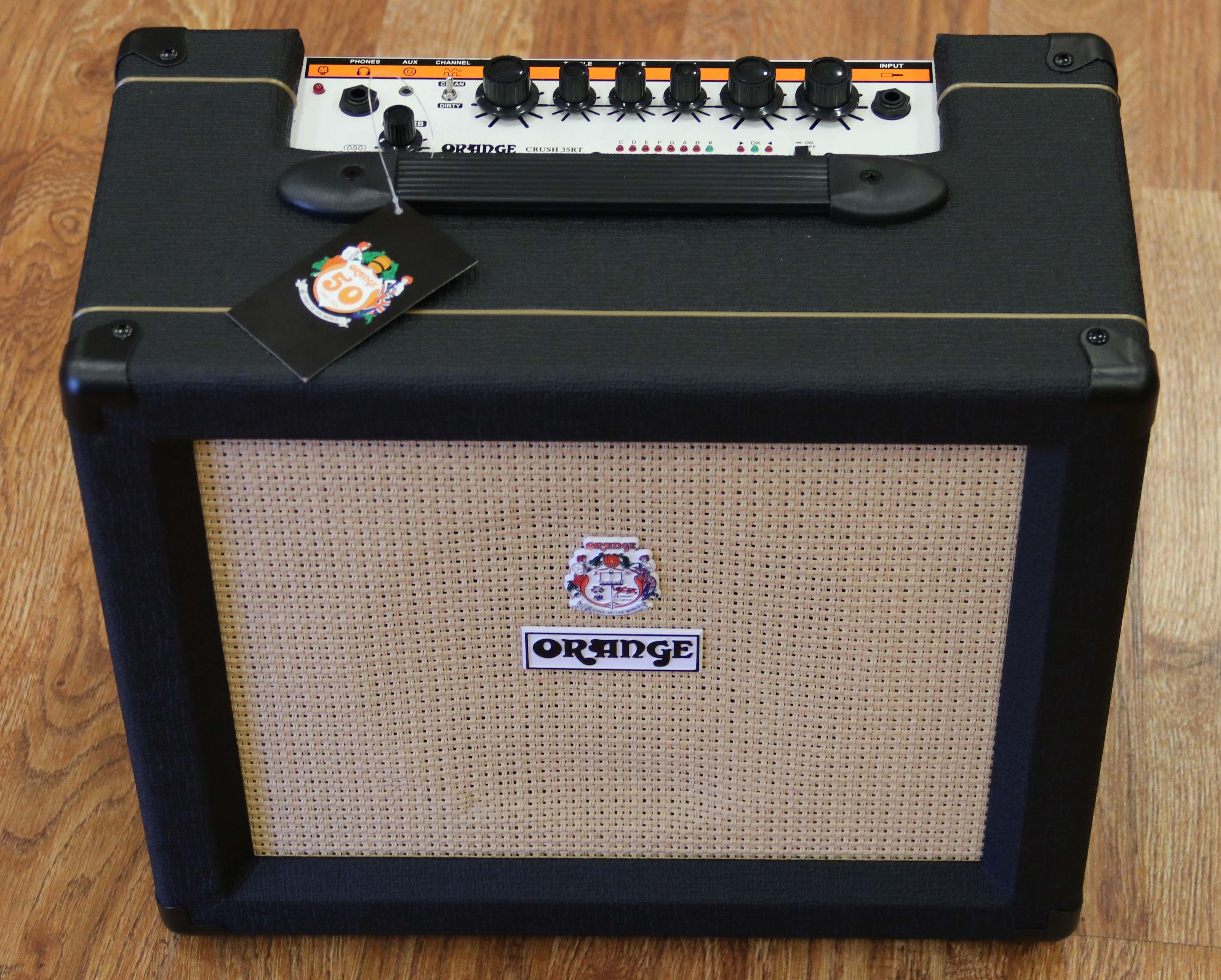 orange crush 35rt guitar combo amplifier black 5060299175037 ebay. Black Bedroom Furniture Sets. Home Design Ideas