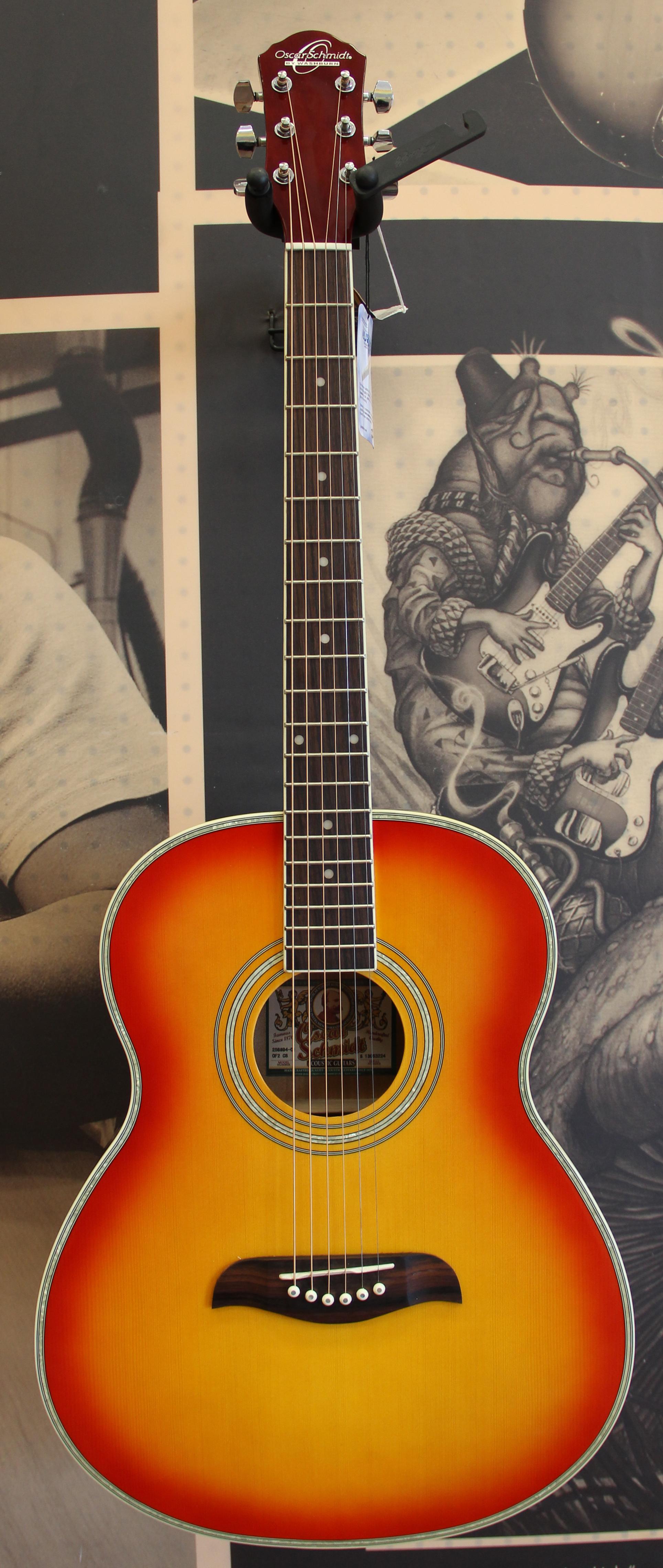 oscar schmidt of2cs folk acoustic guitar ebay. Black Bedroom Furniture Sets. Home Design Ideas