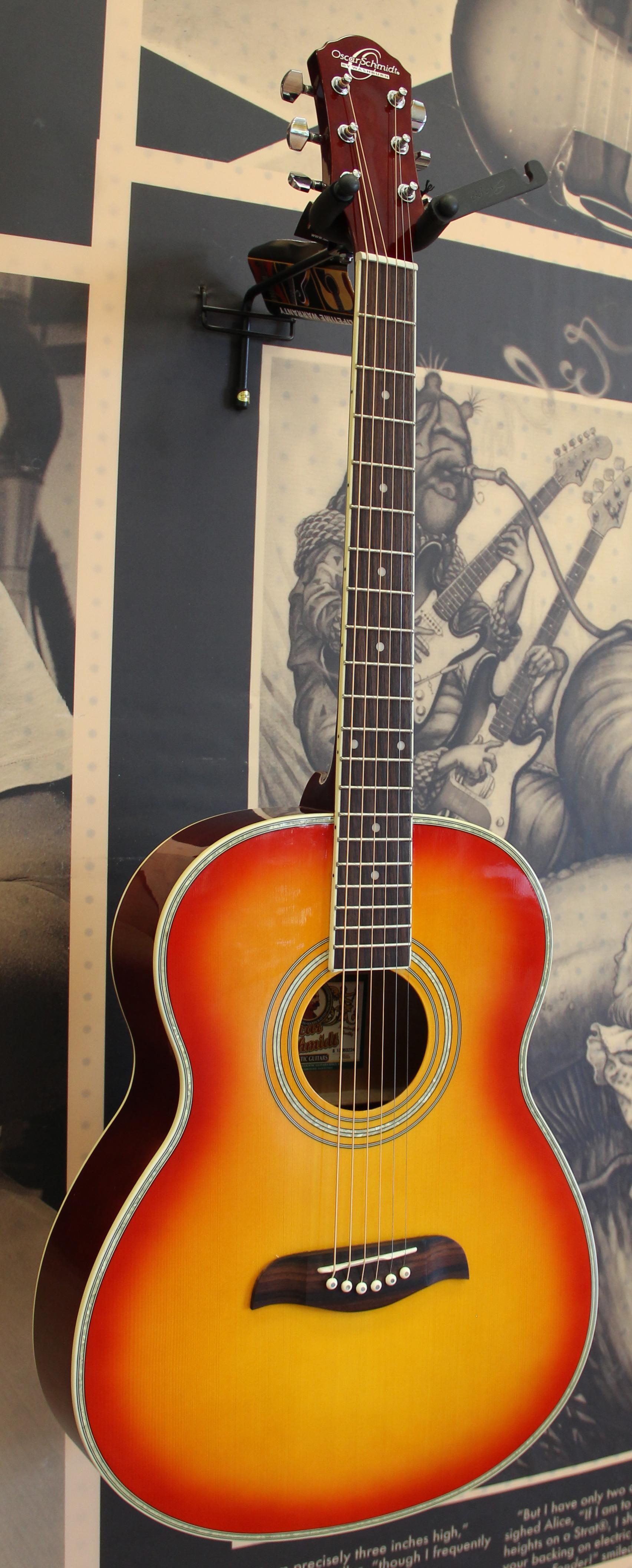 oscar schmidt of2cs folk acoustic guitar 801128502885 ebay. Black Bedroom Furniture Sets. Home Design Ideas