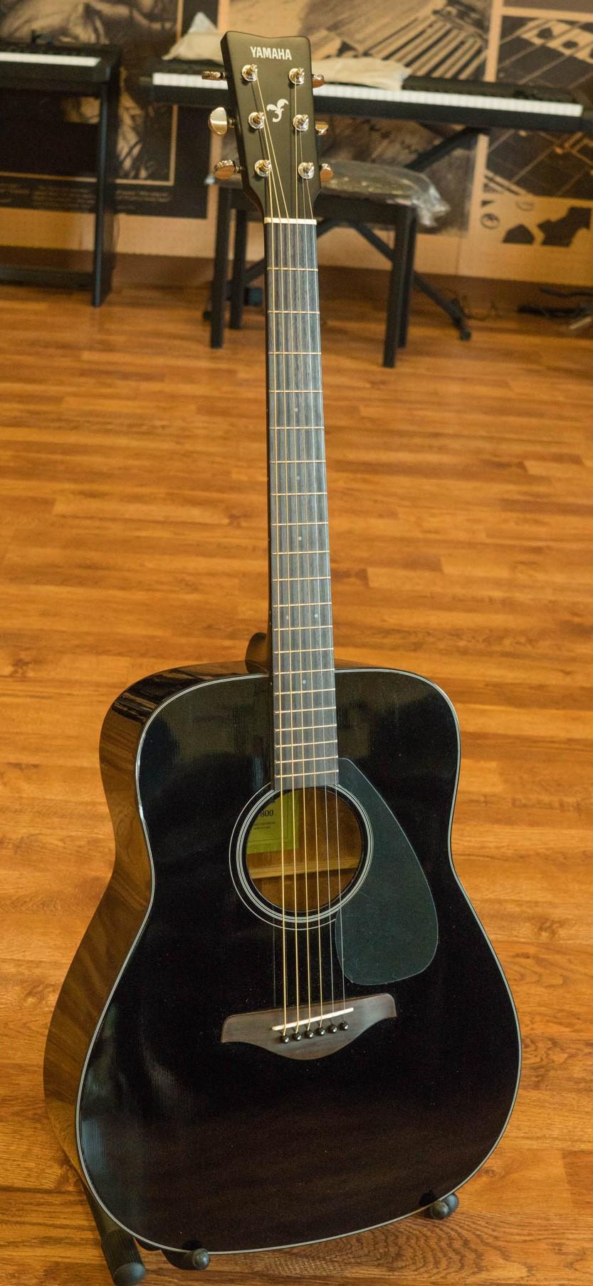 Product yamaha fg800 acoustic guitar black for Yamaha acoustic guitar ebay