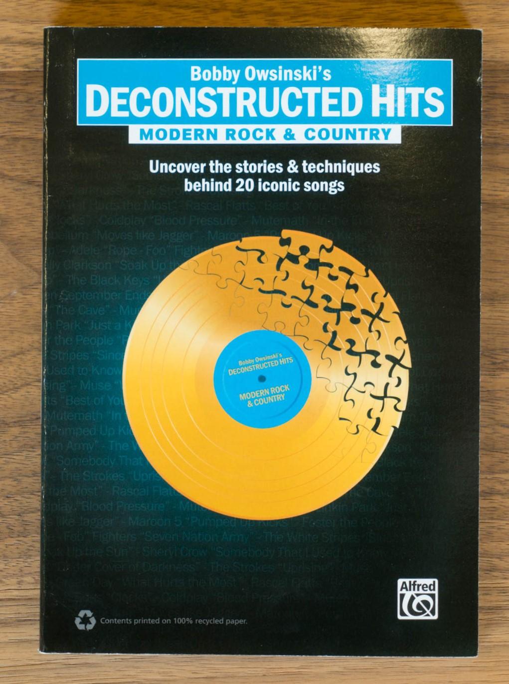 Modern Rock /& Country Bobby Owsinski/'s Deconstructed Hits