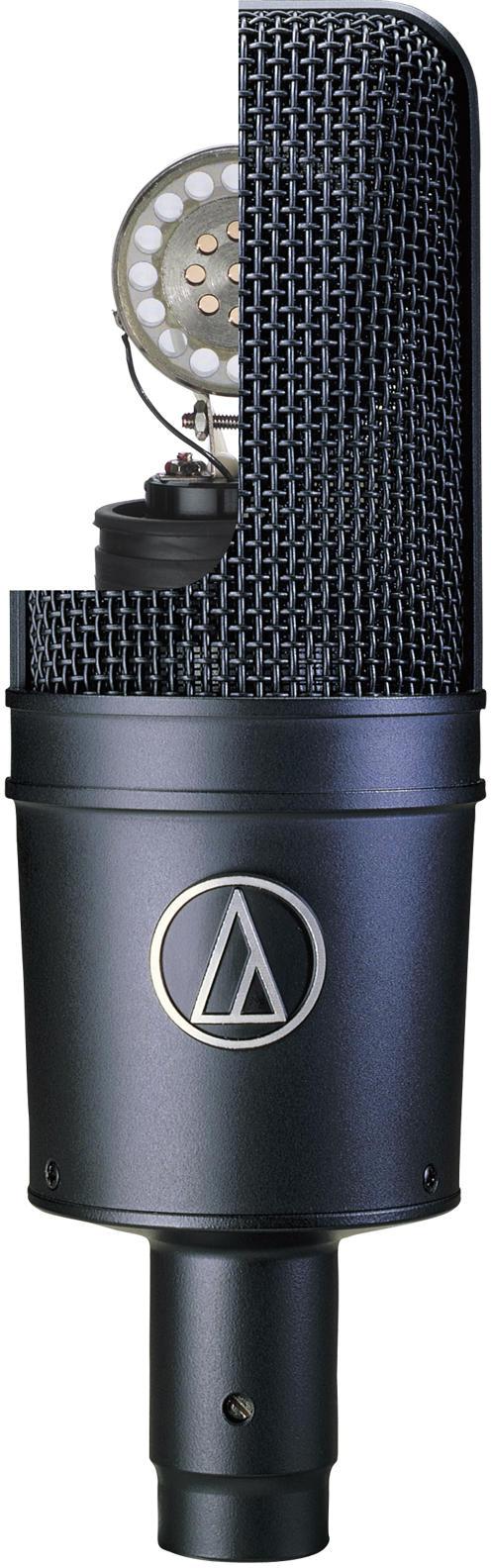 audio technica at4033a cardioid condenser microphone ebay. Black Bedroom Furniture Sets. Home Design Ideas