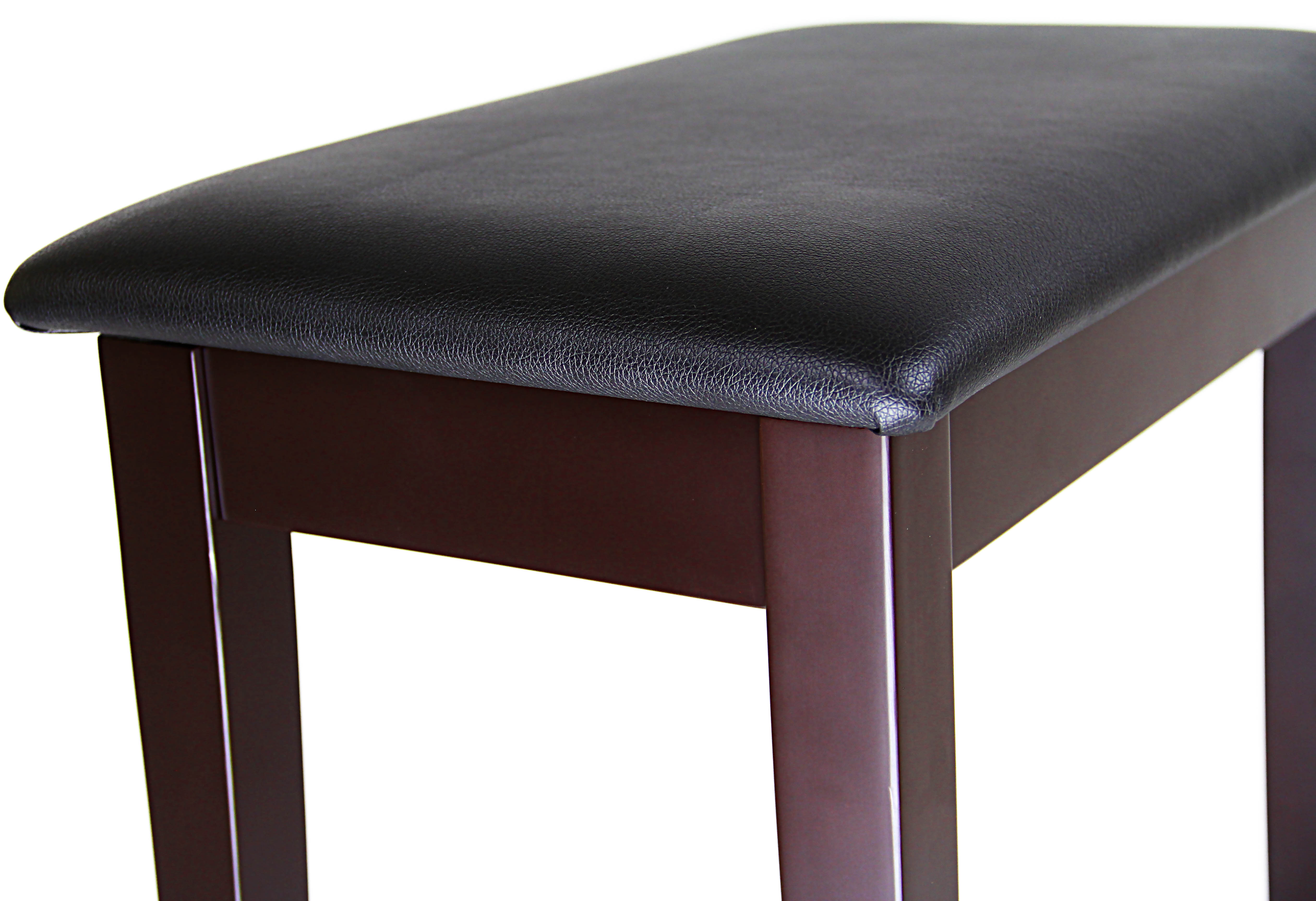 Barcelona Flip Top Piano Bench Rosewood with Matte Finish