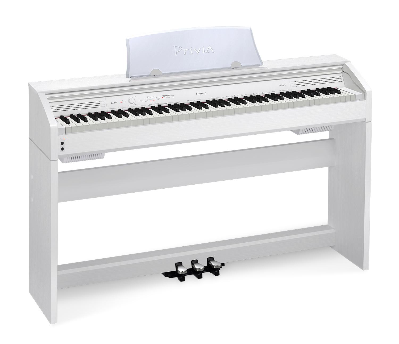 casio privia px 760 digital piano white ebay. Black Bedroom Furniture Sets. Home Design Ideas