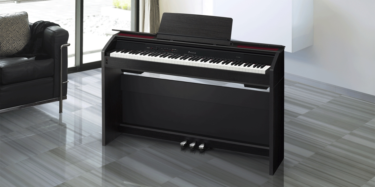 54464033d98 Casio Privia PX-860 Digital Piano - Black w  Furniture Bench 6 6 of 9 See  More