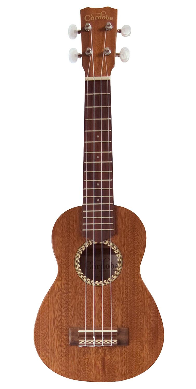 cordoba 20sm soprano ukulele w hard case ebay. Black Bedroom Furniture Sets. Home Design Ideas