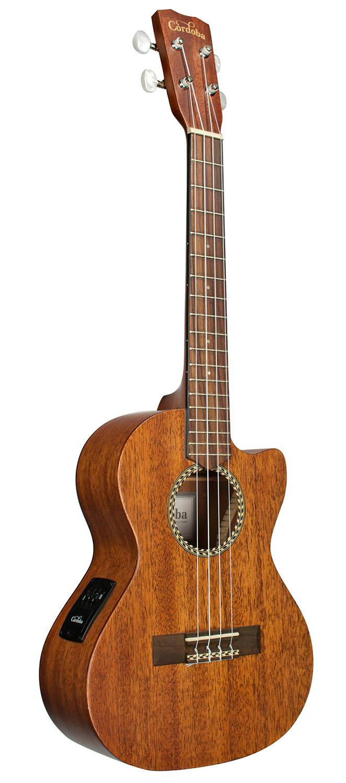 0fa2d9d7f6e Cordoba-20TM-CE-Tenor-Cutaway-Acoustic-Electric-Ukulele thumbnail