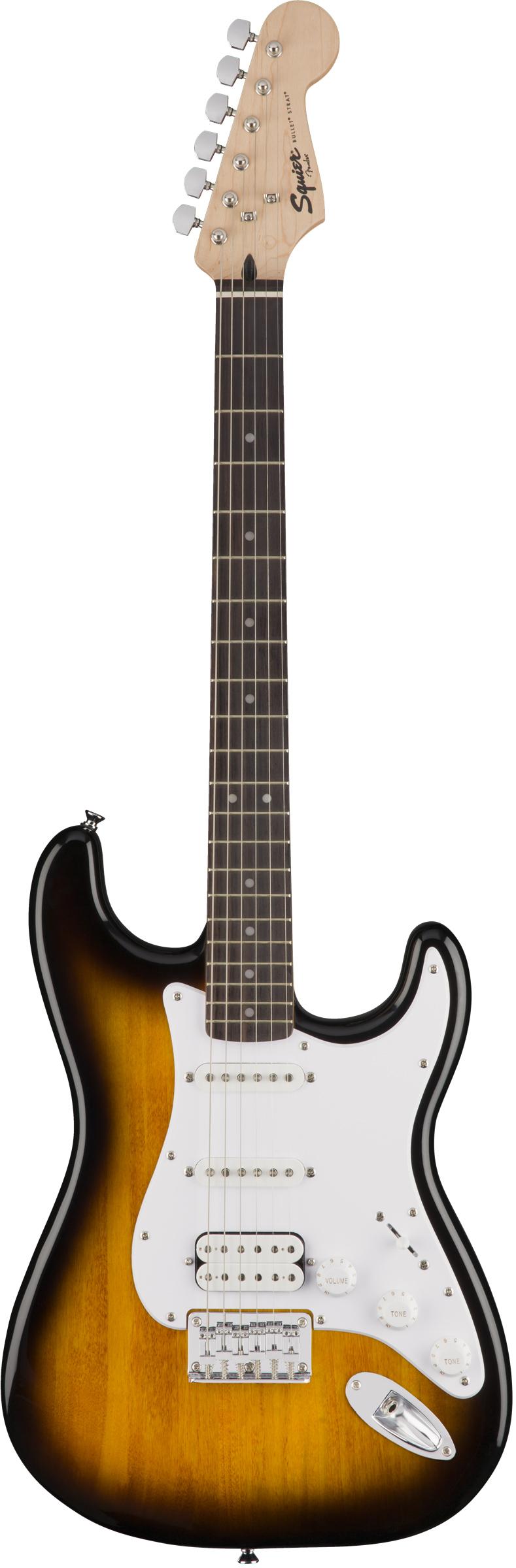Squier by Fender Bullet Stratocaster HSS Hard Tail - Brown Sunburst