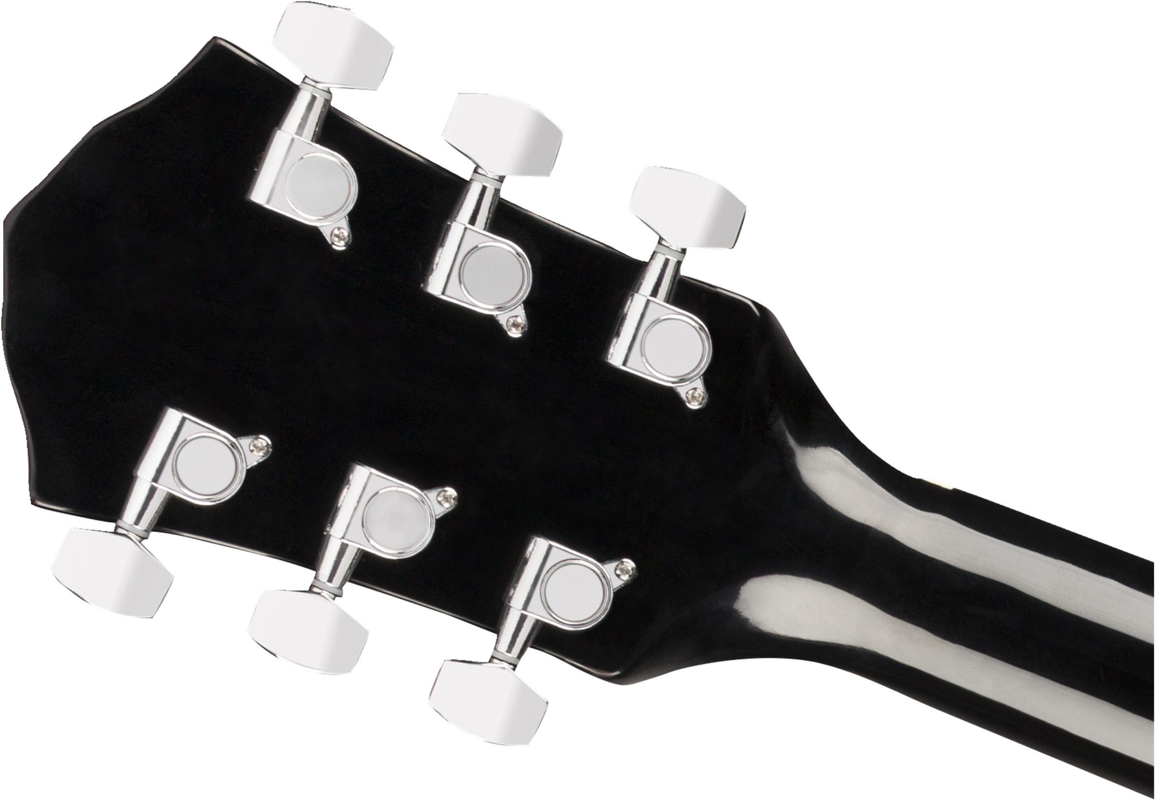 Sunburst w// Gig Bag Fender FA-125CE Dreadnought Acoustic-Electric Guitar