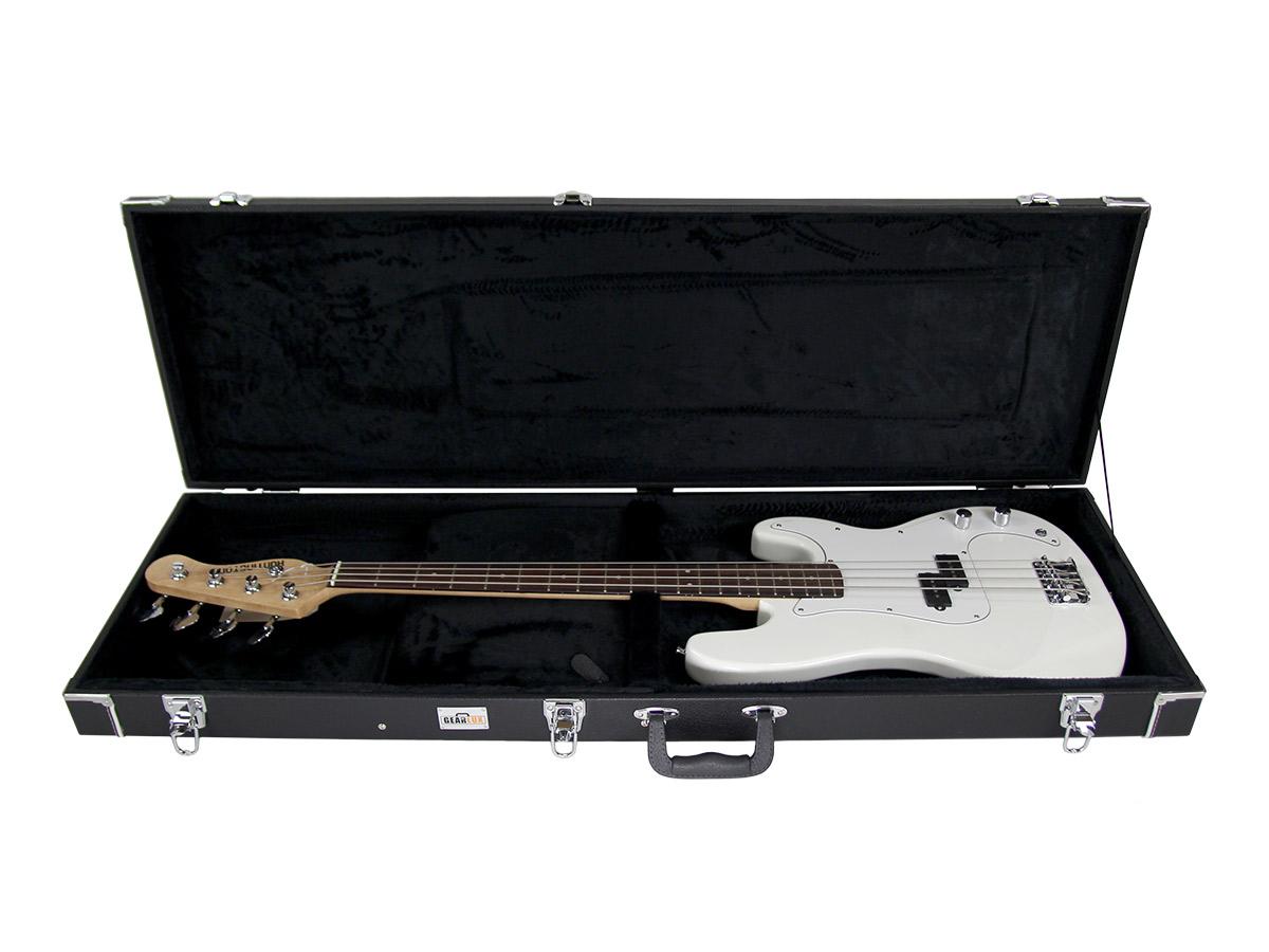 gearlux bass guitar hard case ebay. Black Bedroom Furniture Sets. Home Design Ideas
