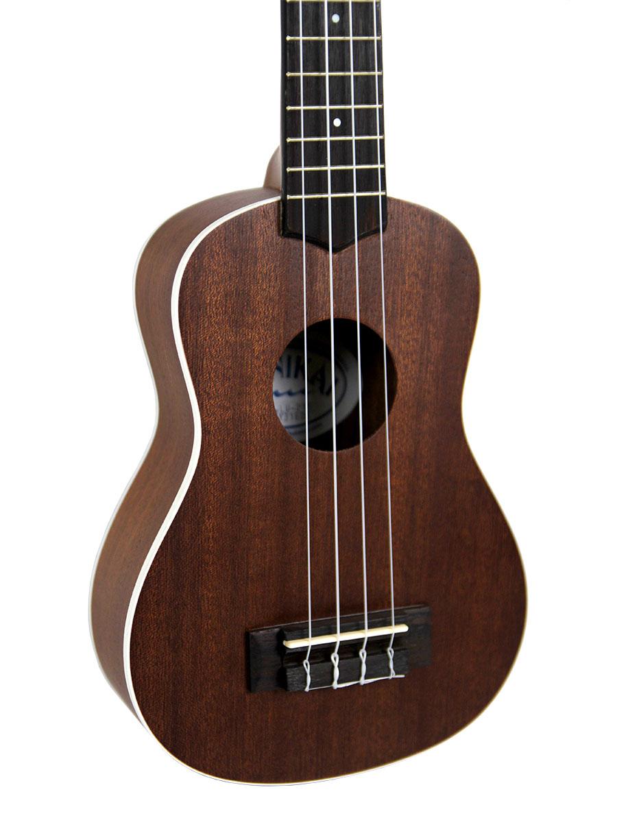 lanikai lu 21 soprano ukulele w hard case ebay. Black Bedroom Furniture Sets. Home Design Ideas
