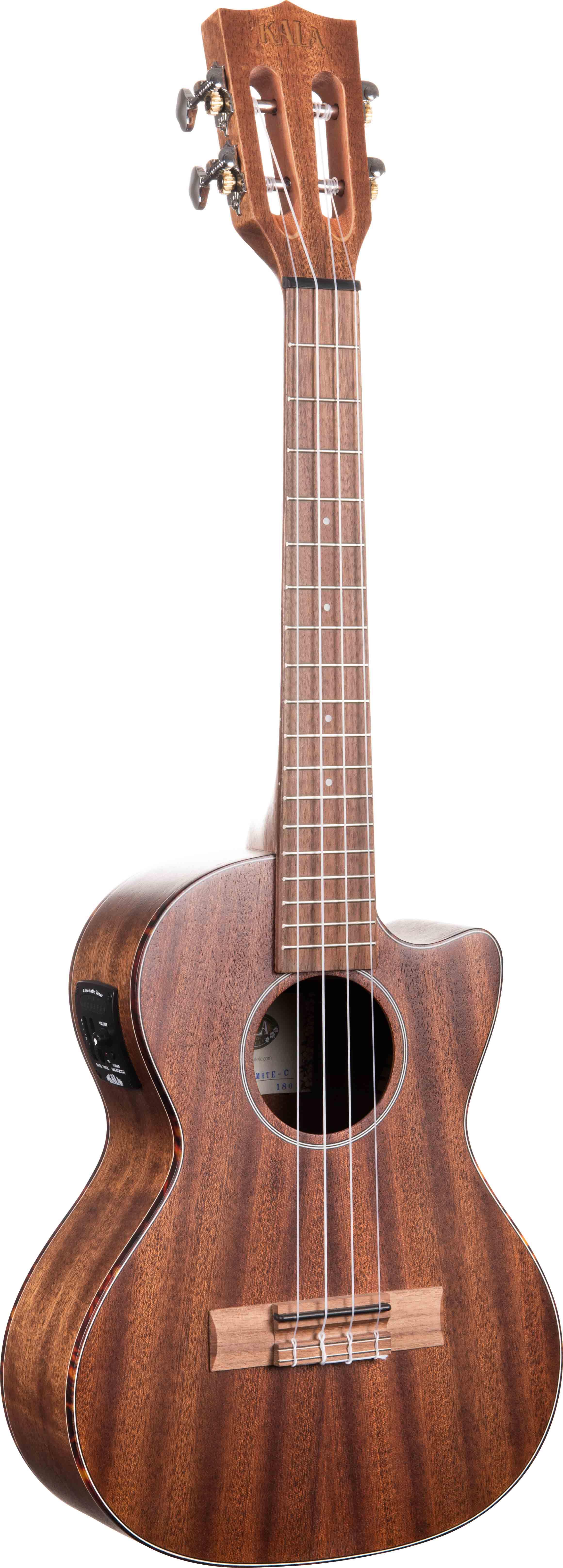 kala ka smhte c solid mahogany tenor acoustic electric ukulele w gig bag 721405632879 ebay. Black Bedroom Furniture Sets. Home Design Ideas
