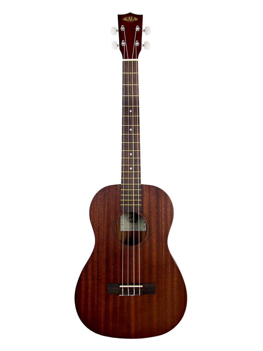 kala kaa 15b satin mahogany baritone ukulele ebay. Black Bedroom Furniture Sets. Home Design Ideas