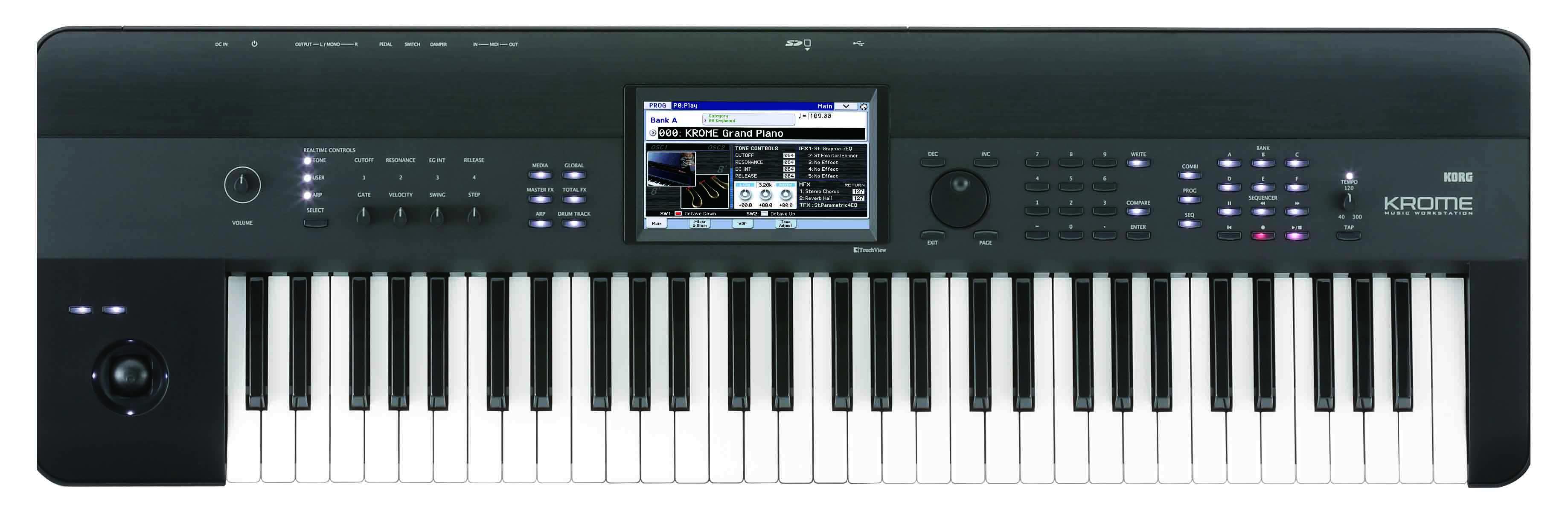 korg krome 61 music workstation 4959112099128 ebay rh ebay com Korg Krome 73 korg krome 73 user manual