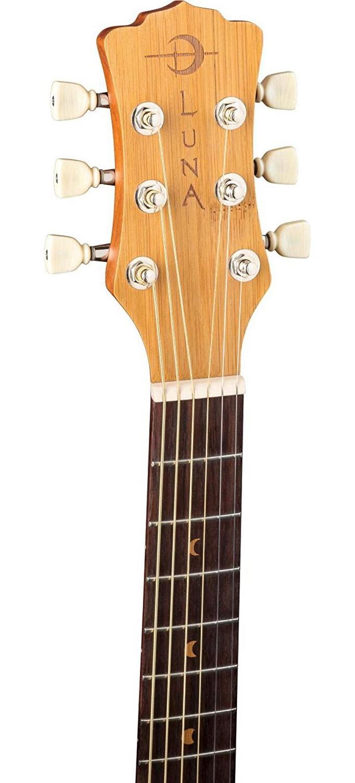 8b009302f9 Luna Safari Bamboo Travel Guitar 814064028265 | eBay