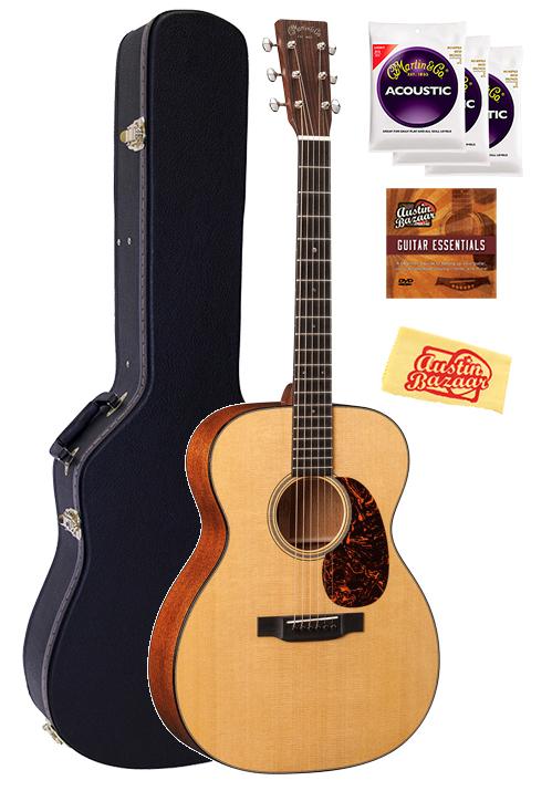 martin 000 18 acoustic guitar w hard case ebay. Black Bedroom Furniture Sets. Home Design Ideas