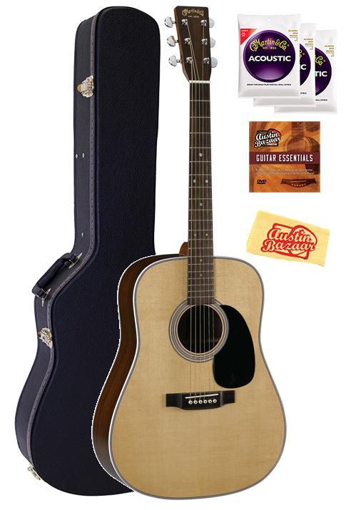 martin d 28 acoustic guitar w hard case ebay. Black Bedroom Furniture Sets. Home Design Ideas