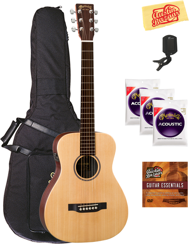 little martin lx1e acoustic electric ez play modified guitar ebay. Black Bedroom Furniture Sets. Home Design Ideas
