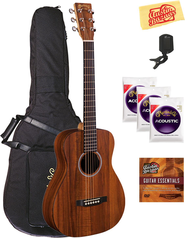 martin lxk2 little martin acoustic guitar w gig bag ebay. Black Bedroom Furniture Sets. Home Design Ideas