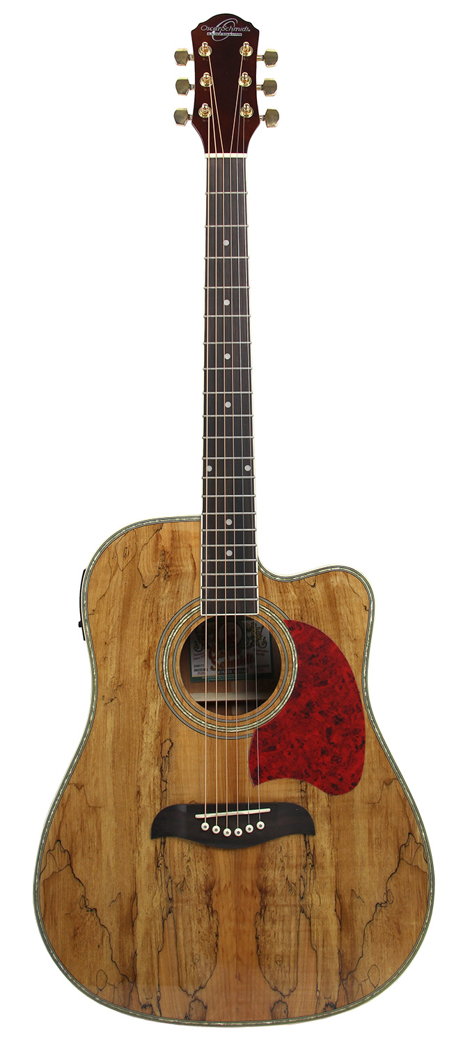 oscar schmidt og2cesmg spalted maple acoustic electric guitar gold tuners ebay. Black Bedroom Furniture Sets. Home Design Ideas