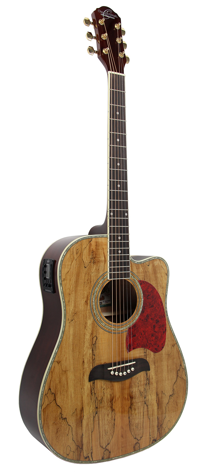 oscar schmidt og2cesmg spalted maple acoustic electric guitar w gig bag ebay. Black Bedroom Furniture Sets. Home Design Ideas