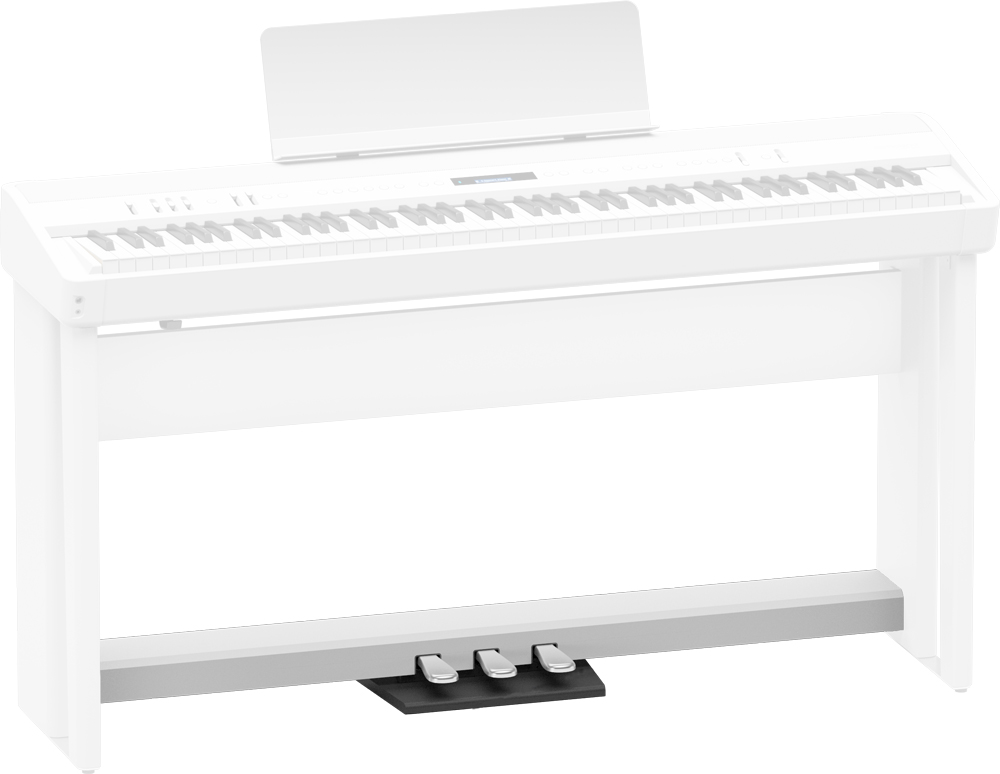 Roland KPD-90 Pedal Unit for FP-90 FP-60 Digital Pianos - White