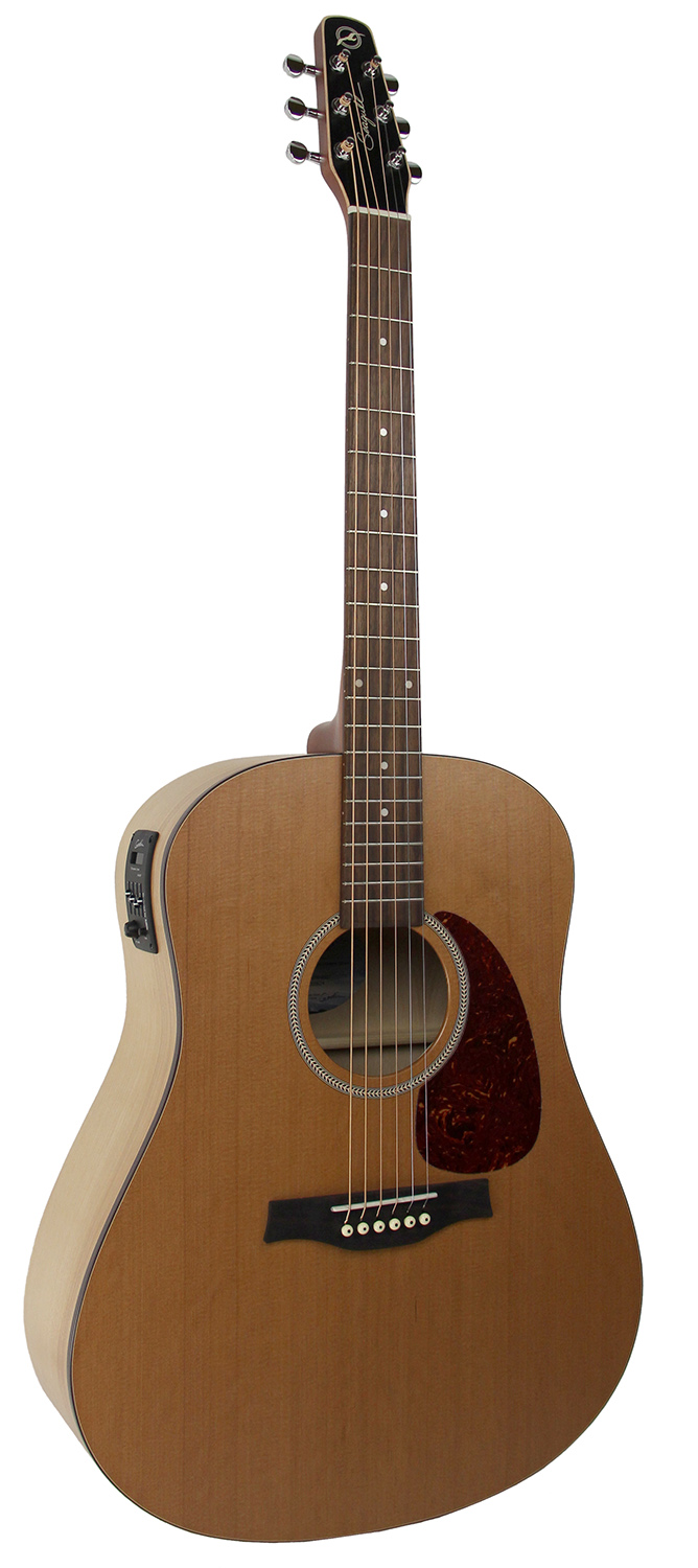 seagull s6 classic m 450t acoustic electric guitar natural w hard case ebay. Black Bedroom Furniture Sets. Home Design Ideas