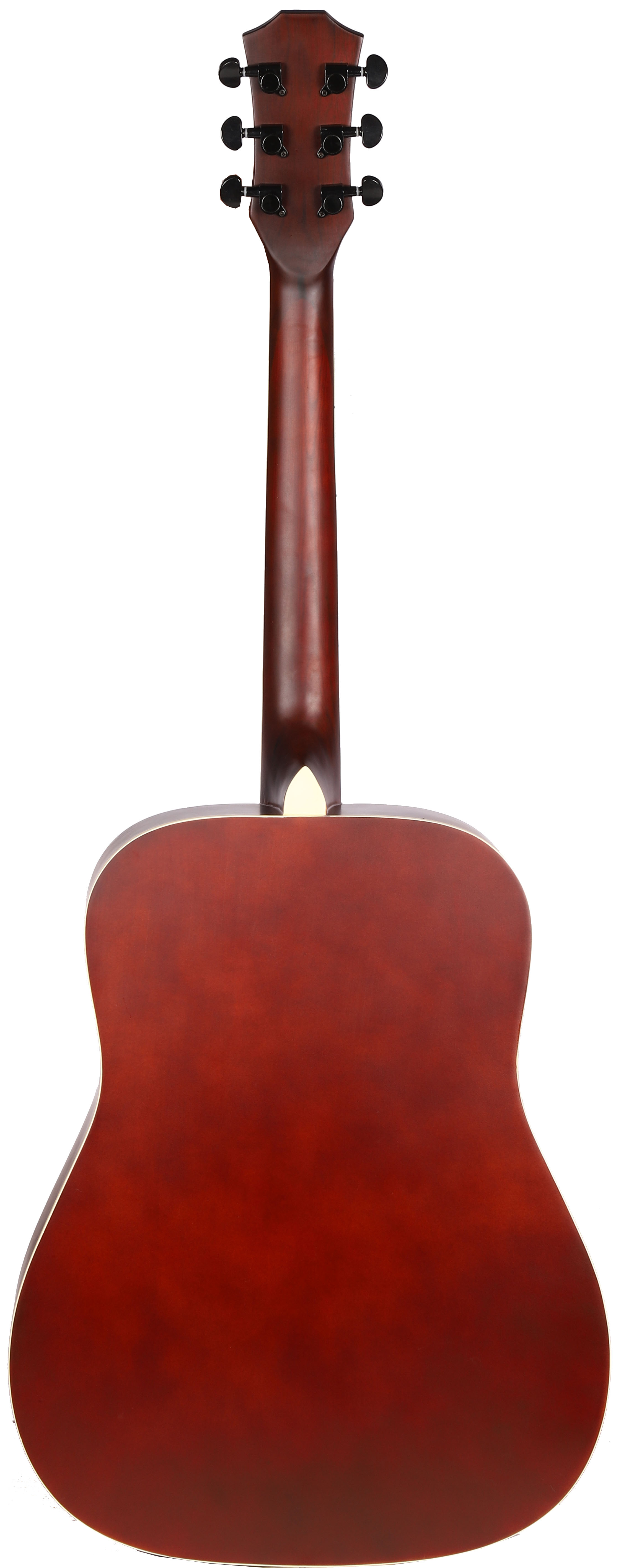 Natural w// Gig Bag Vault EA10 41-Inch Dreadnought Acoustic Guitar