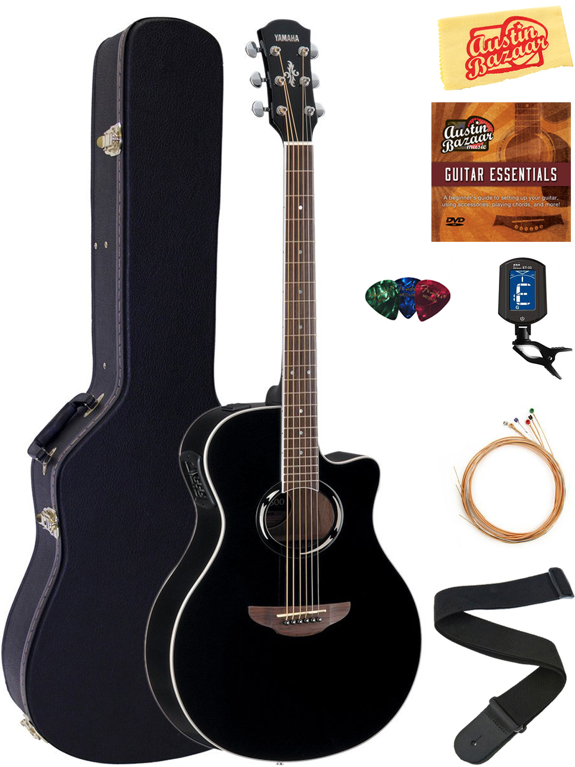 yamaha apx500 thinline cutaway acoustic electric guitar. Black Bedroom Furniture Sets. Home Design Ideas