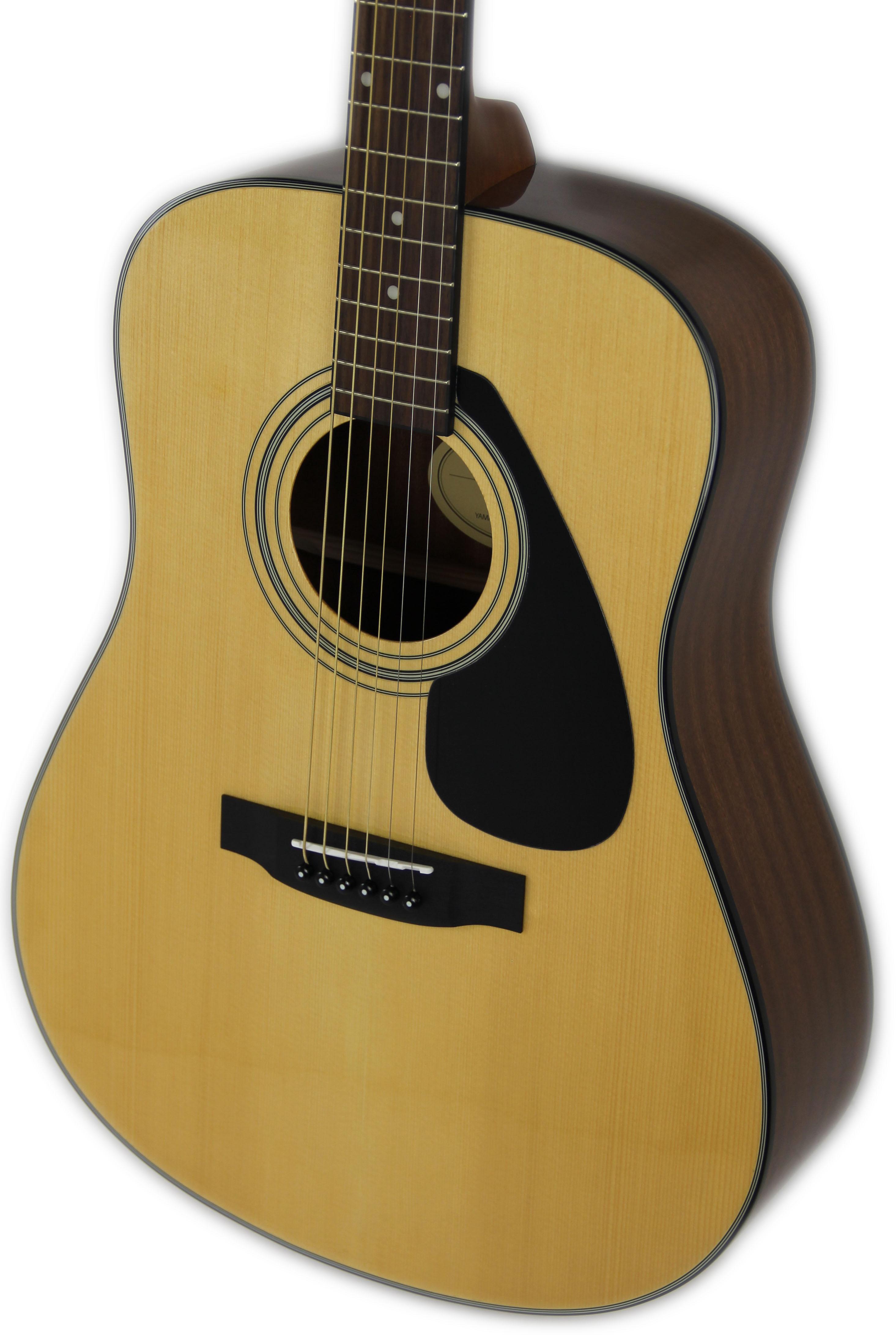 yamaha f325d dreadnought acoustic guitar natural w gig bag. Black Bedroom Furniture Sets. Home Design Ideas