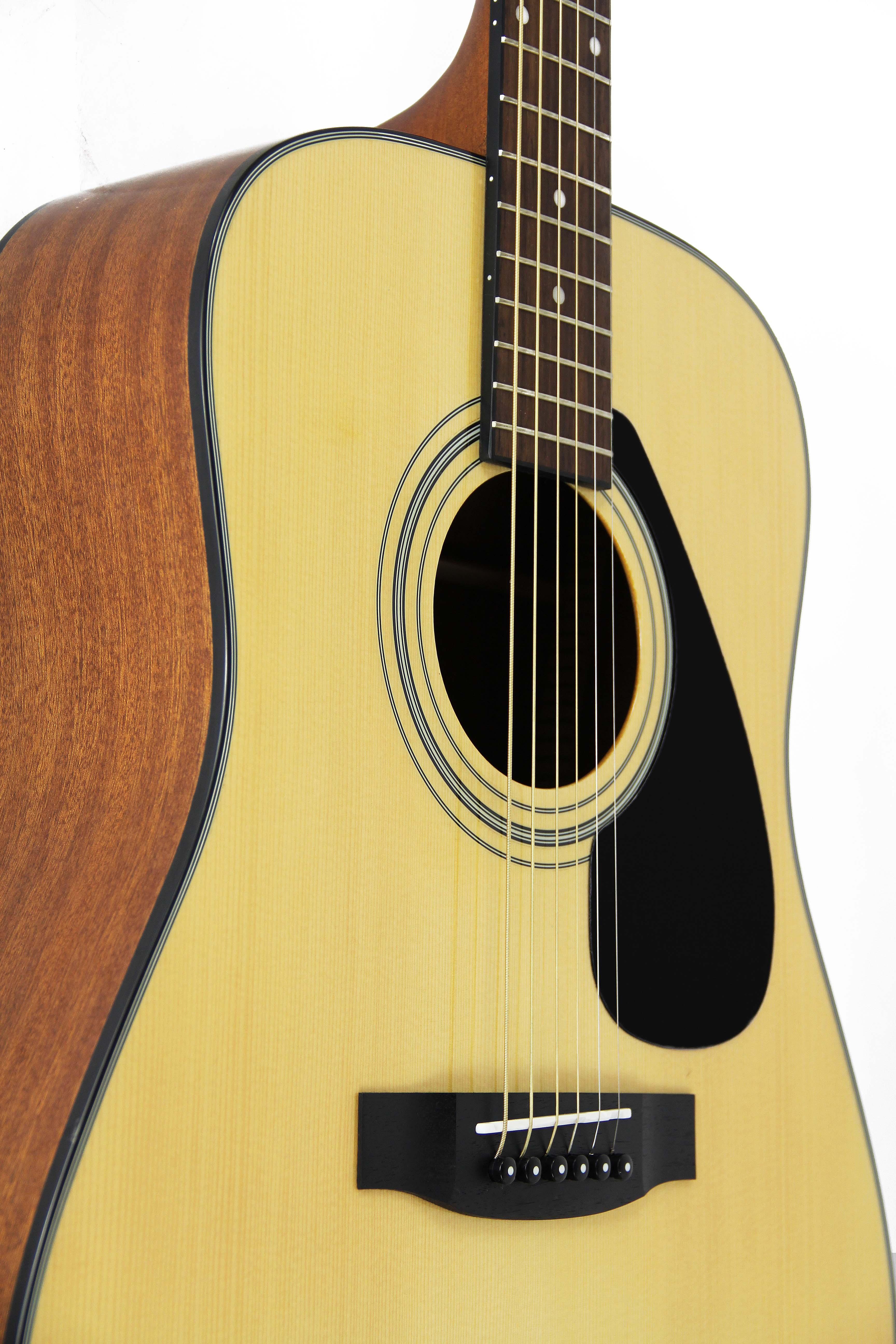 yamaha f325d acoustic guitar w hard case ebay. Black Bedroom Furniture Sets. Home Design Ideas