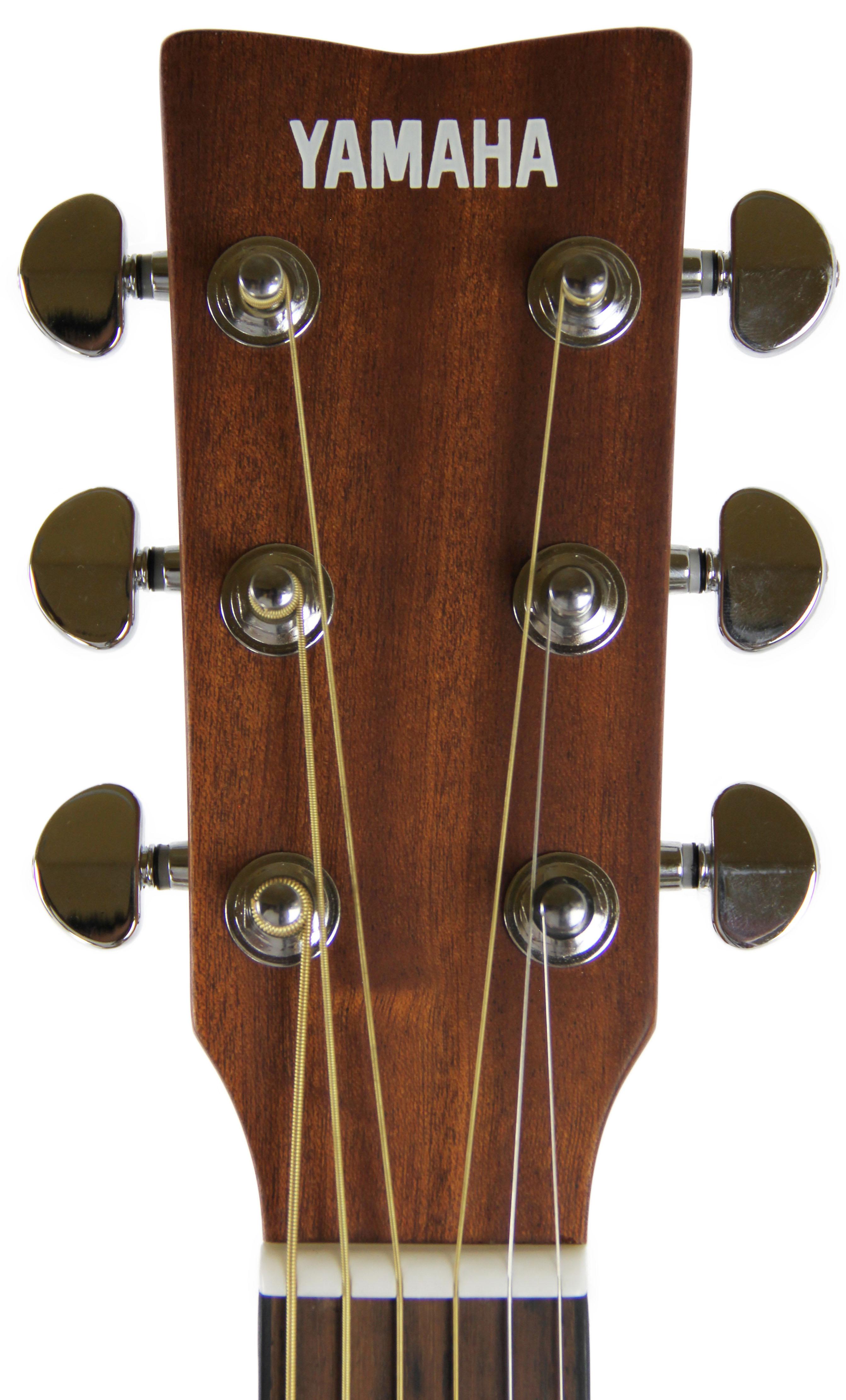 yamaha f325d dreadnought acoustic guitar natural w hard case 660845713642 ebay. Black Bedroom Furniture Sets. Home Design Ideas