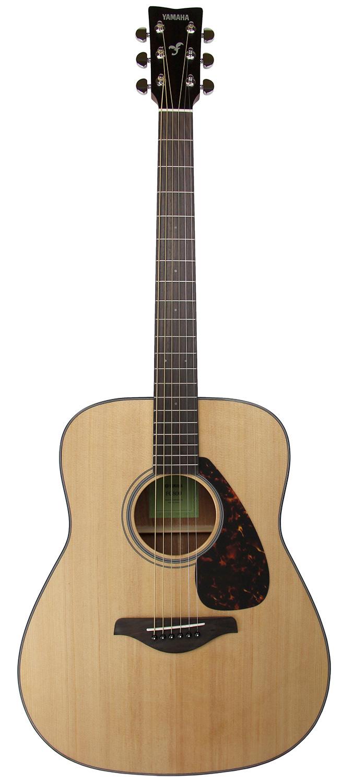 Yamaha fg800 acoustic guitar natural ebay for Where are yamaha guitars made
