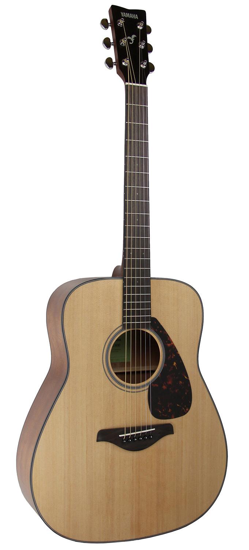 yamaha fg800 acoustic guitar natural w hard case ebay. Black Bedroom Furniture Sets. Home Design Ideas