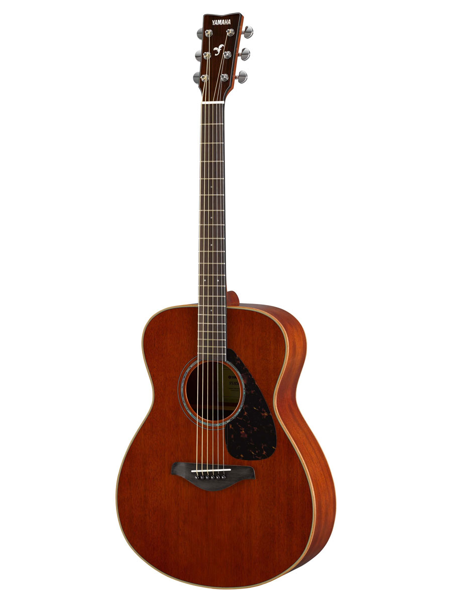 yamaha fs850 solid top small body acoustic guitar natural mahogany 4957812597814 ebay. Black Bedroom Furniture Sets. Home Design Ideas