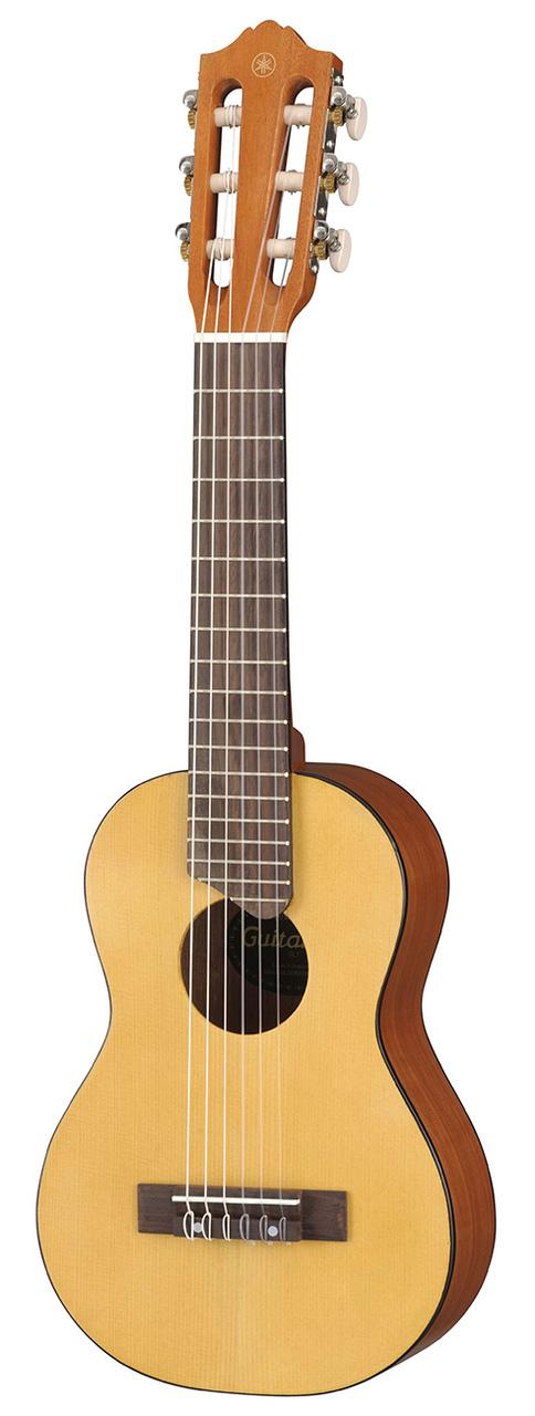 yamaha gl1 guitalele guitar ukulele natural w stand. Black Bedroom Furniture Sets. Home Design Ideas