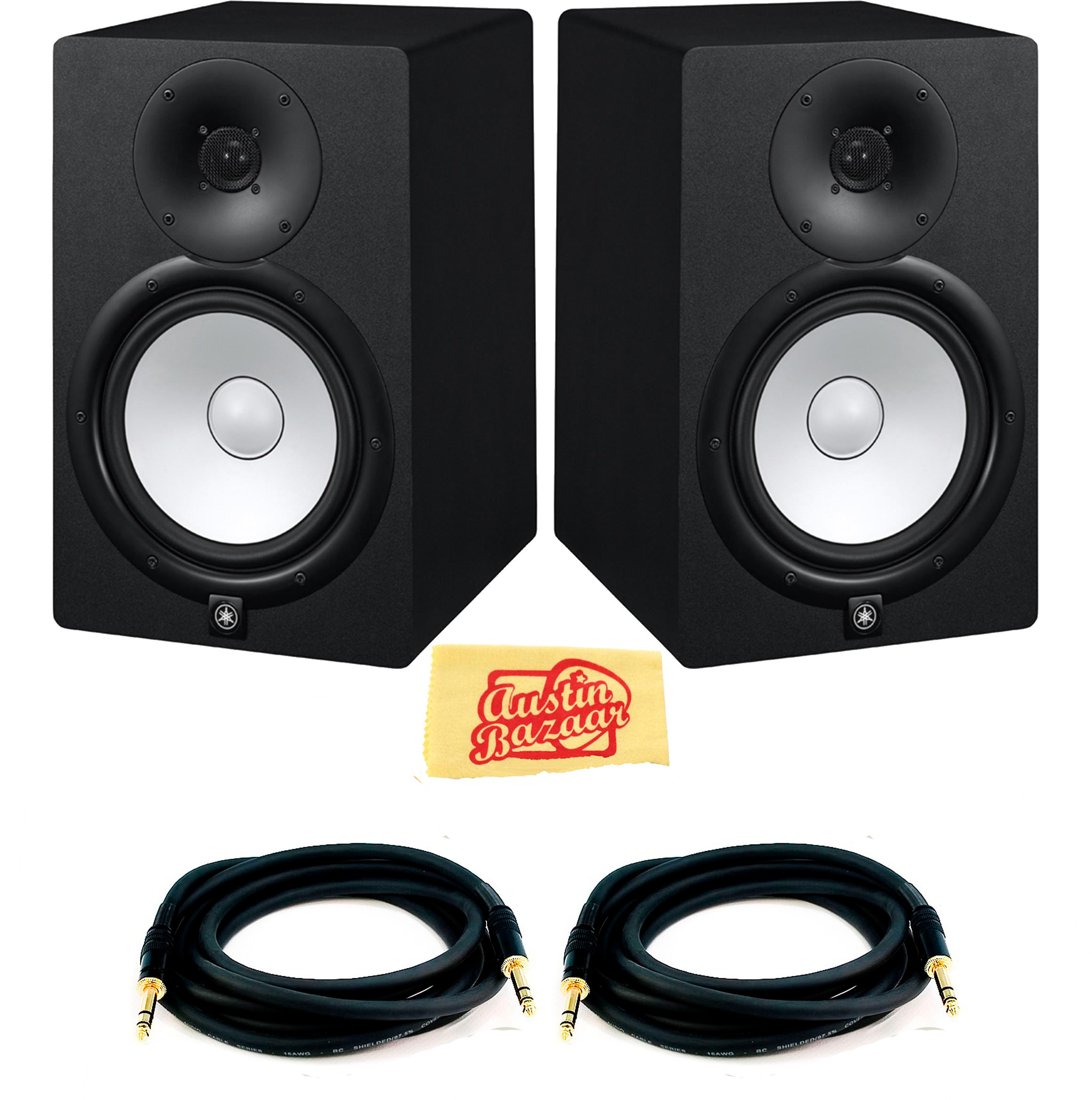 Yamaha HS7 Powered Studio Monitor Pair w  Cables