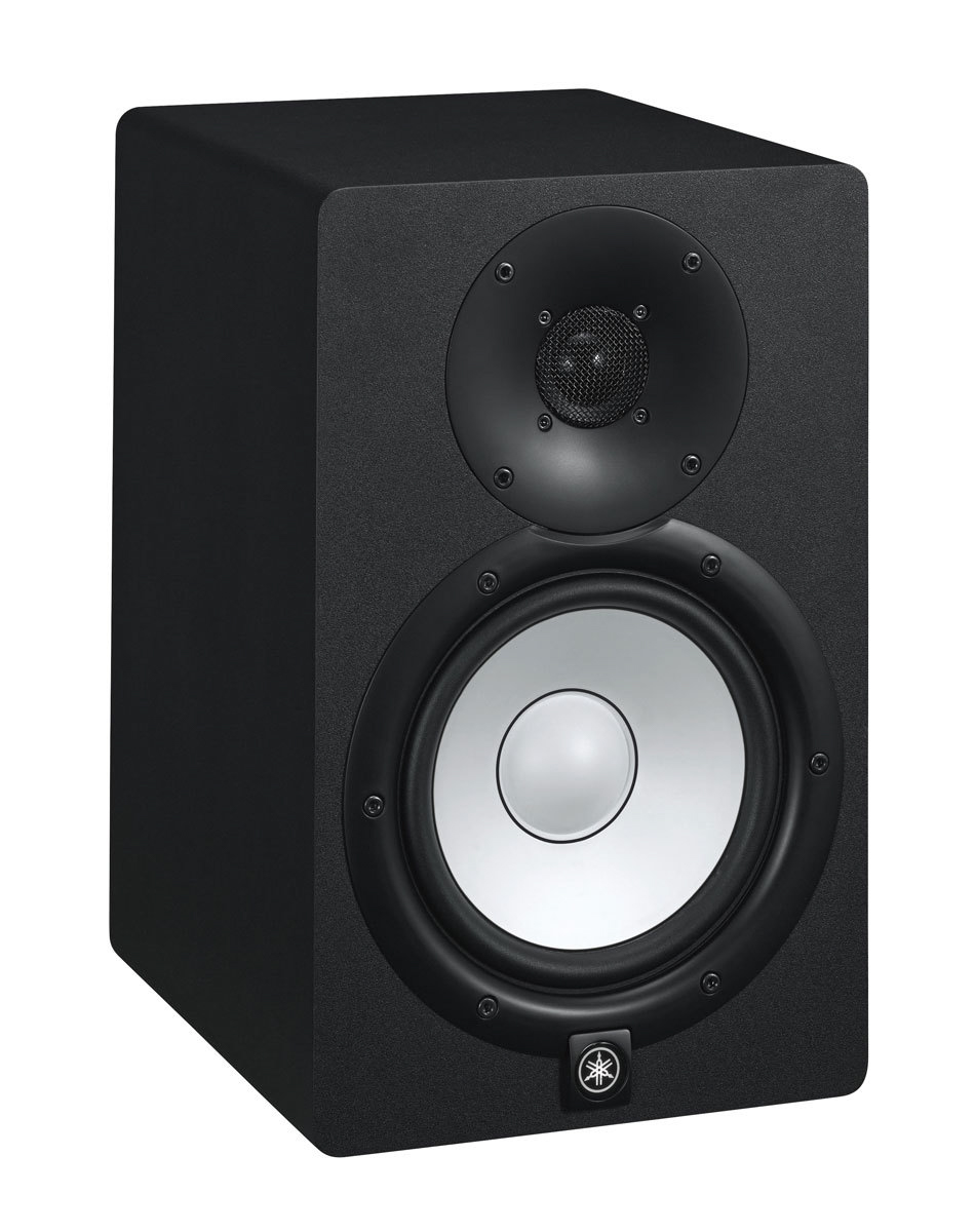 yamaha hs7 powered studio monitor pair w stands. Black Bedroom Furniture Sets. Home Design Ideas