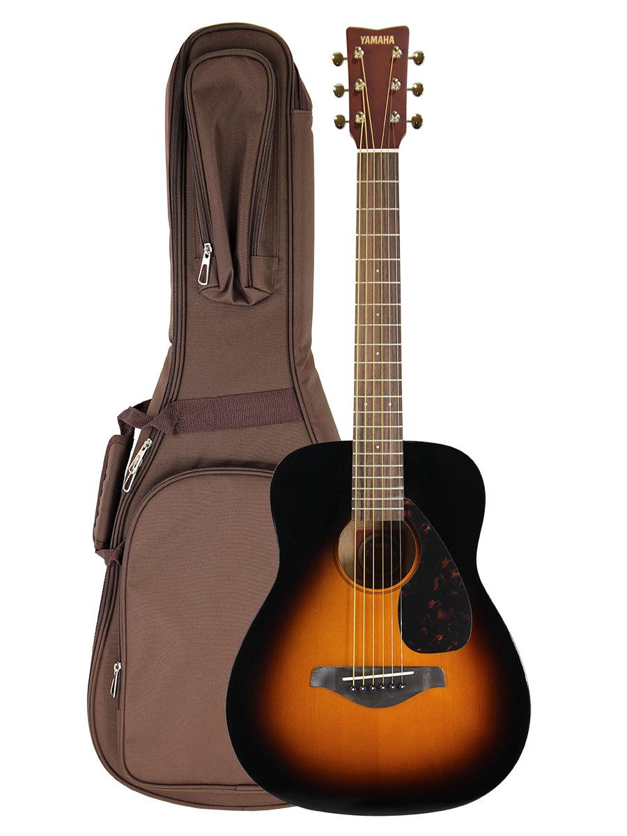 Yamaha jr2 3 4 size acoustic guitar tobacco sunburst w for Yamaha jr2 3 4