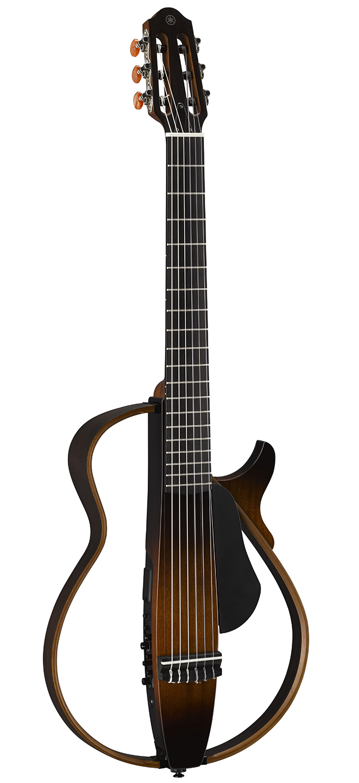 yamaha slg200n nylon string silent guitar tobacco sunburst 889025100571 ebay. Black Bedroom Furniture Sets. Home Design Ideas