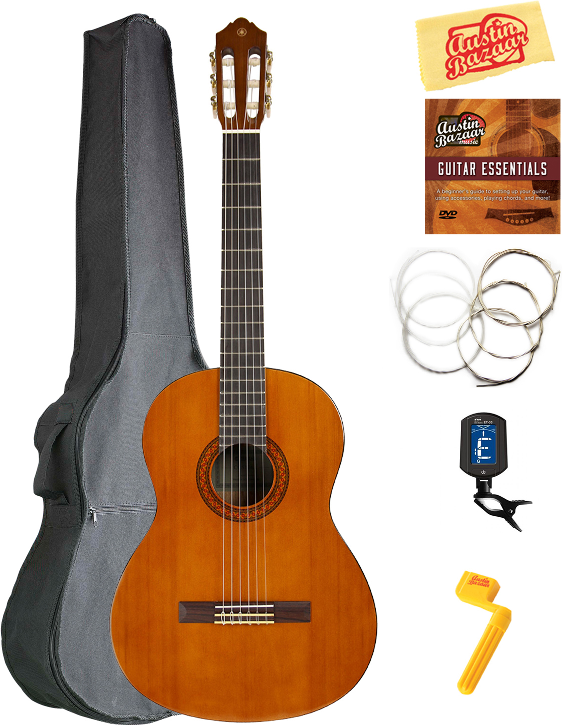 Yamaha C40 Classical Guitar w// Gig Bag