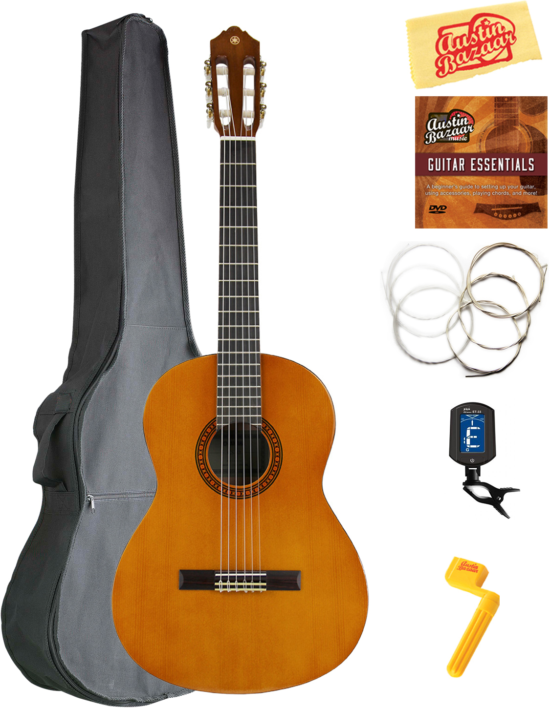 yamaha cs40 7 8 scale classical guitar w gig bag ebay. Black Bedroom Furniture Sets. Home Design Ideas