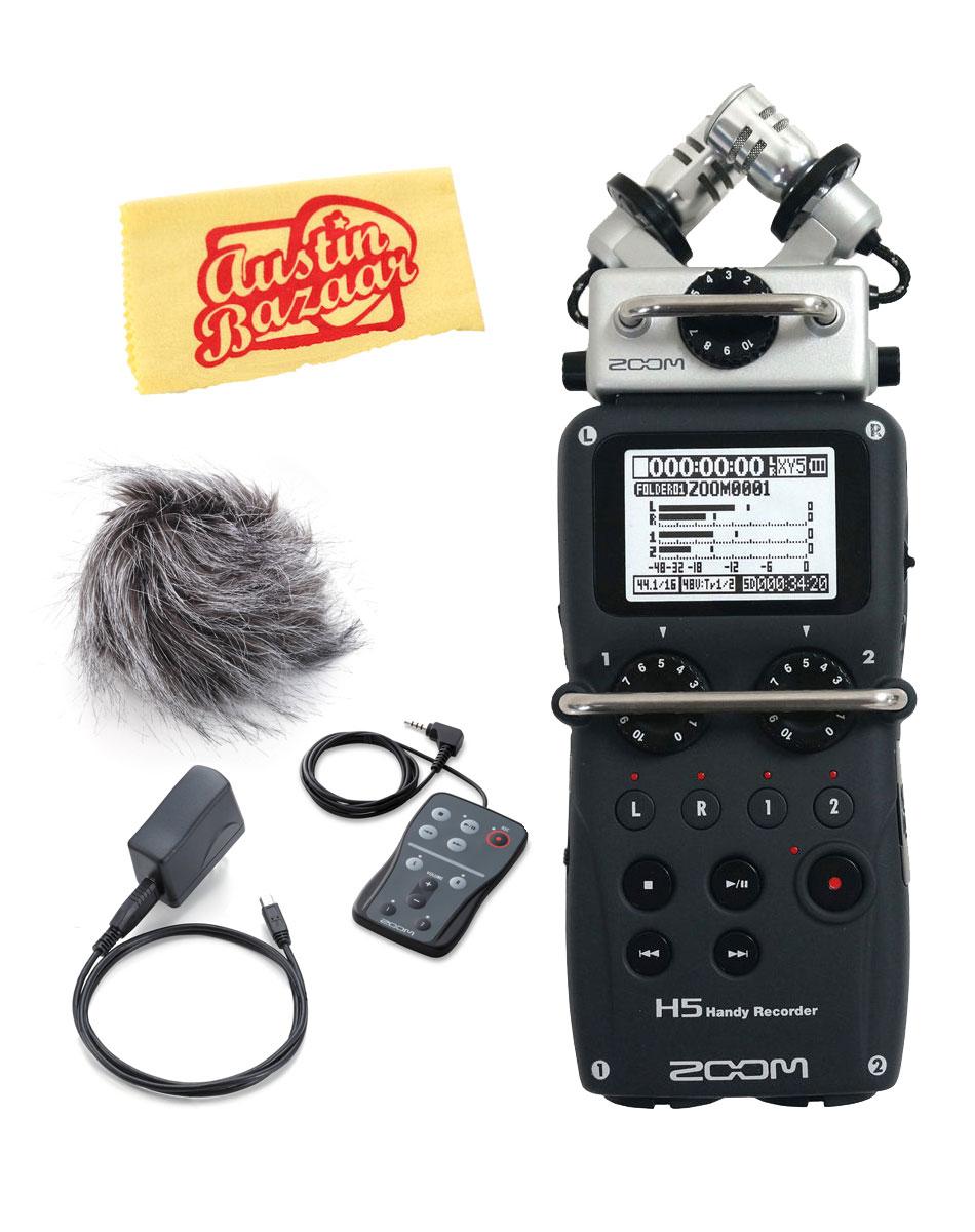 Zoom Handy Recorder : zoom h5 handy recorder w aph 5 accessory pack ebay ~ Hamham.info Haus und Dekorationen