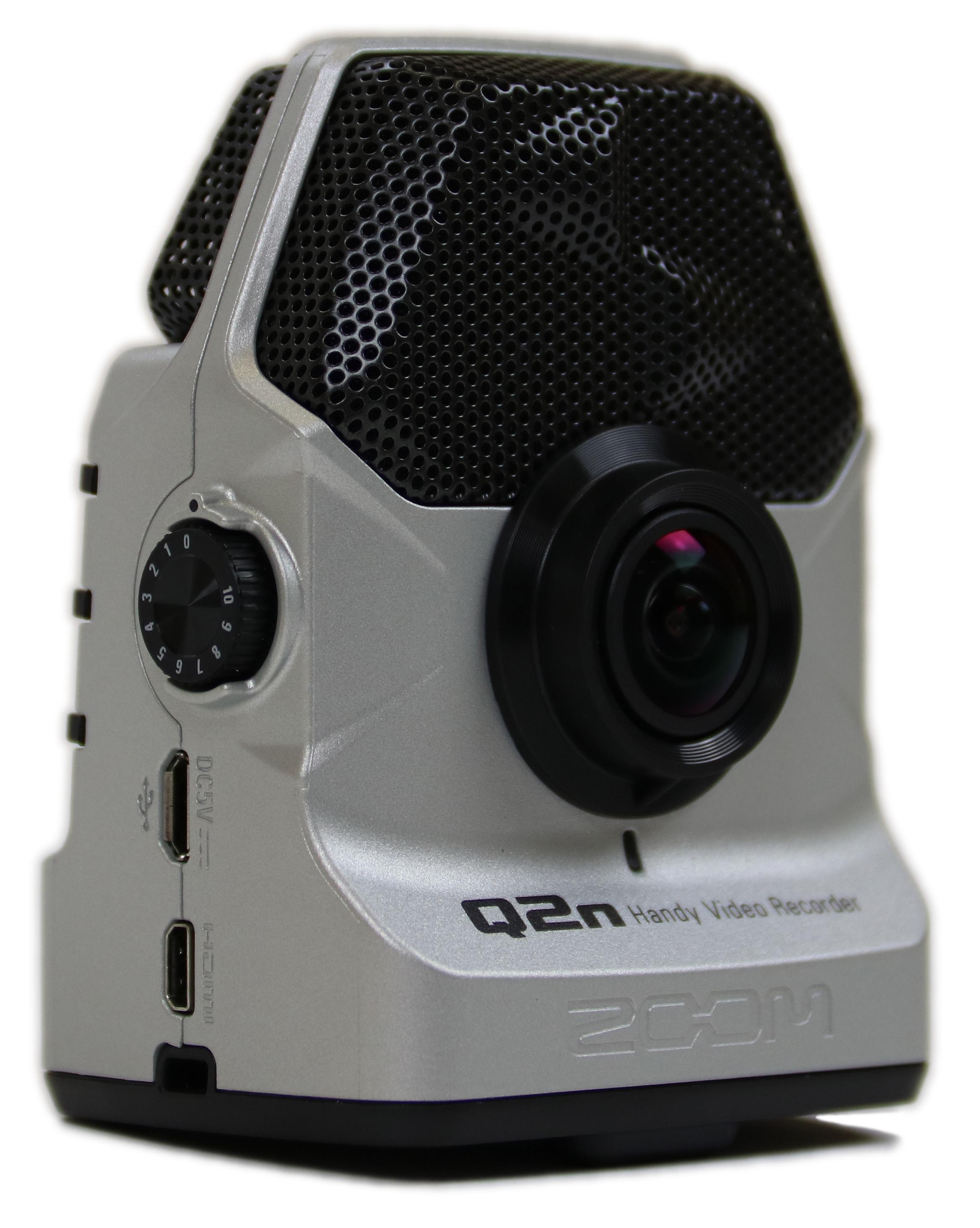 zoom q2n handy video recorder silver 884354018474 ebay. Black Bedroom Furniture Sets. Home Design Ideas