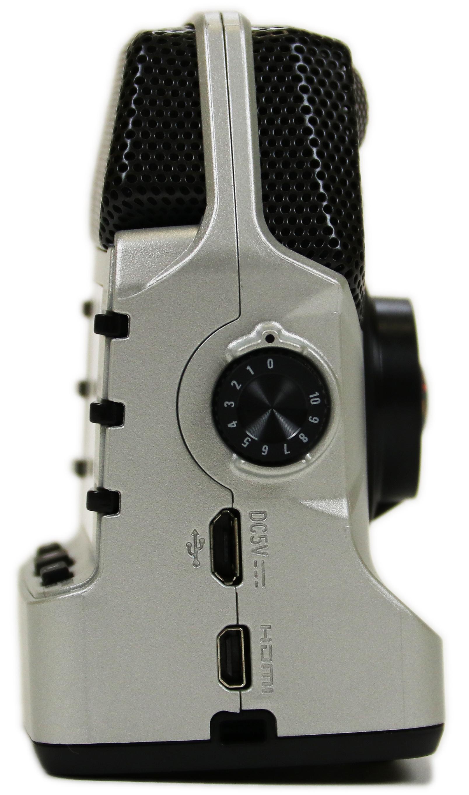 zoom q2n handy video recorder silver ebay. Black Bedroom Furniture Sets. Home Design Ideas