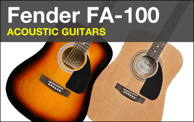 Shop Fender FA-100 Acoustic Guitars
