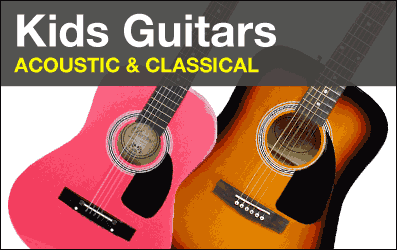Shop Kids Acoustic and Classical Guitars