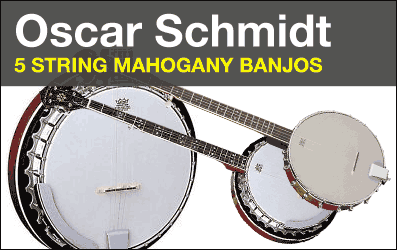 Shop Oscar Schmidt 5-String Banjos